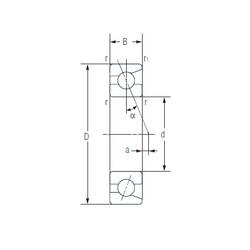20 mm x 47 mm x 14 mm  NACHI 7204AC Face-to-face duplex arrangement Bearings