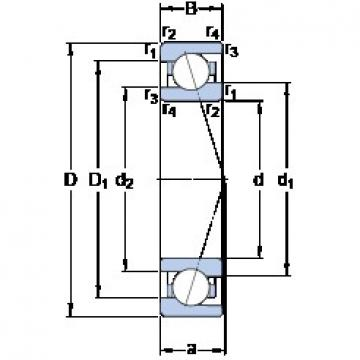 70 mm x 100 mm x 16 mm  SKF 71914 ACE/HCP4A High Accuracy Precision Bearings