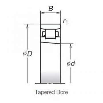 130 mm x 200 mm x 33 mm  NSK N1026MRKR Face-to-face duplex arrangement Bearings