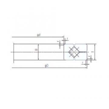 200 mm x 285 mm x 30 mm  NACHI 200XRGV028 Face-to-face duplex arrangement Bearings