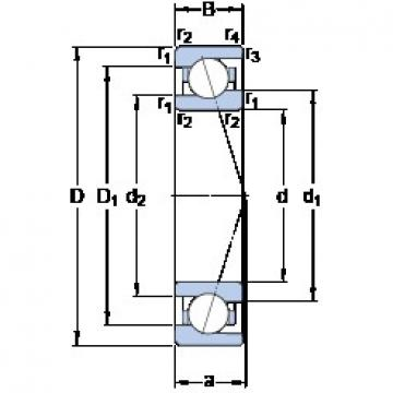 25 mm x 42 mm x 9 mm  SKF 71905 ACE/P4A High Accuracy Precision Bearings