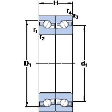 SKF BTM 60 BTN9/P4CDB Face-to-face duplex arrangement Bearings